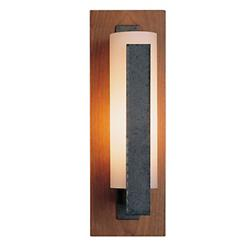 Forged Vertical Bars Outdoor Wall Sconce-Damp