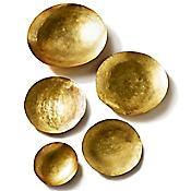 Form Bowl Set (Gold) - OPEN BOX RETURN