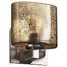 Fusion Mercury Glass Modular Wall Sconce (Nickel) - OPEN BOX