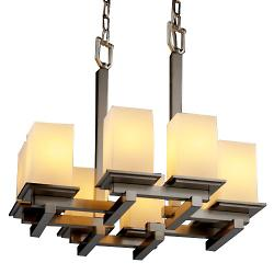 Fusion Montana 8-Light Zig Zag Chandelier