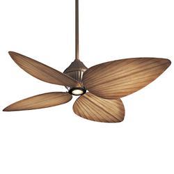 Gauguin Indoor/Outdoor Ceiling Fan (Bronze/Beige) - OPEN BOX