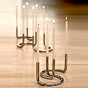 Gemini Candleholder
