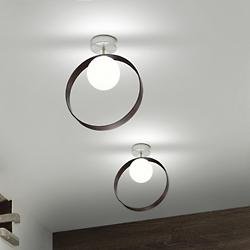 Giuko Ceiling/Wall Light (Ebony/White) - OPEN BOX RETURN