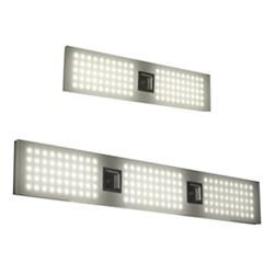 Grid LED Bath Bar