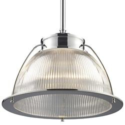 Halophane Pendant 60004-60014 (Chrome) - OPEN BOX RETURN