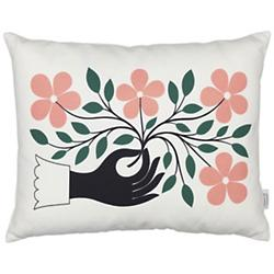 Hand Graphic Pillow (Multicolor) - OPEN BOX RETURN