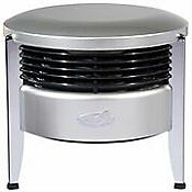 Hassock Aire Floor Fan (Silver/Black) - OPEN BOX RETURN