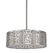Hidden Gems LED Drum Pendant