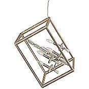 Houdini Single Clear Pendant