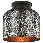 Hounslow Flushmount (Bronze/Brown Mercury) - OPEN BOX RETURN