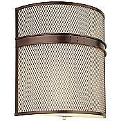 I Beam Flush Wall Sconce (Merlot Bronze) - OPEN BOX RETURN
