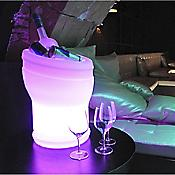 Illuseo LED Champagne Cooler