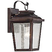 Irvington Manor Exterior Wall Sconce (Bronze) - OPEN BOX