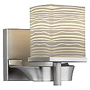 Isobar Single Wall Sconce (Satin Nickel) - OPEN BOX RETURN