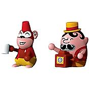 Jimmy Melody and Monkey Money Set of 2 Figurines