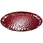 Joy N. 3 Colored Round Tray (Pomegranate) - OPEN BOX RETURN