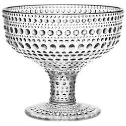 Kastehelmi Footed Bowl
