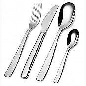 KnifeForkSpoon 24 pc Monobloc Cutlery Set