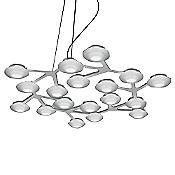 LED Net Circle Suspension (Aluminum) - OPEN BOX RETURN