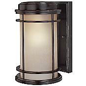 La Mirage Outdoor Wall Sconce-Fluorescent (Large) - OPEN BOX RETURN