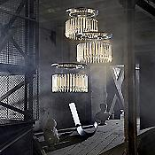 Lady Crinoline Chandelier