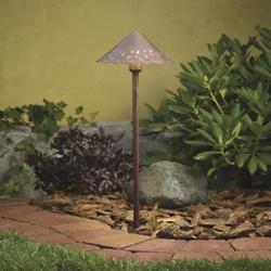 Landscape LED Decorative Hammered Roof Path Light