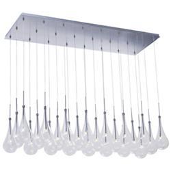 Larmes 24 Light LED Linear Suspension