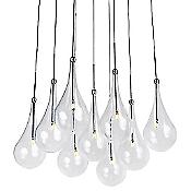 Larmes LED Multi Light Pendant