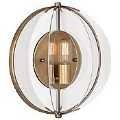 Latitude 3375 Wall Sconce (Aged Brass) - OPEN BOX RETURN