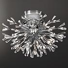 Lenka 43-Light Crystal Flushmount