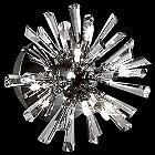 Lenka 6-Light Crystal Flushmount