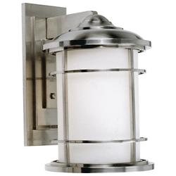 Lighthouse Wall Lantern (White/Large) - OPEN BOX RETURN