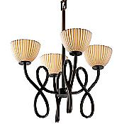 Limoges Capellini Bowl Chandelier