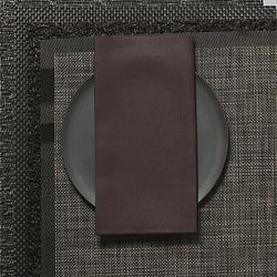 Linen Napkins (Chocolate) - OPEN BOX RETURN