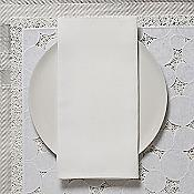 Linen Napkins (White) - OPEN BOX RETURN