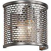 Lit- Mesh Test Wall Sconce