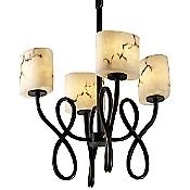LumenAria Capellini Bowl Chandelier