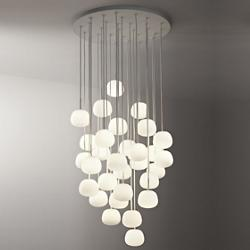 Lumi-Mochi Round Multi-Light Pendant