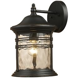 Madison Outdoor Wall Sconce (Black/Small) - OPEN BOX RETURN
