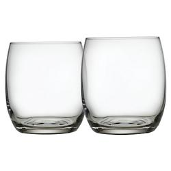Mami XL Water Tumbler Set of 2 (Clear) - OPEN BOX RETURN