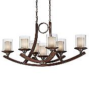 Mano Oval Chandelier