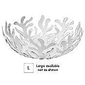 Mediterraneo Fruit Basket (White/Large) - OPEN BOX RETURN