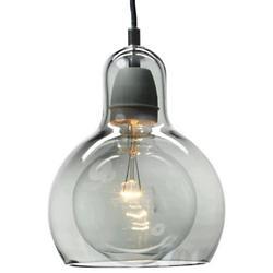 Mega Bulb Lustre Pendant (Black/Silver Lustre) - OPEN BOX