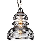 Menlo Park Pendant (Clear/Silver) - OPEN BOX RETURN