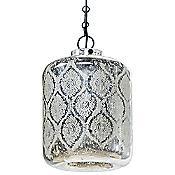 Mercury Glass Jaipur Pendant