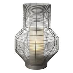 Mesh Grey Table Lamp