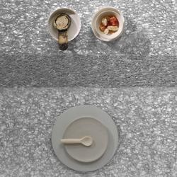 Metallic Lace Rectangular Tablemat