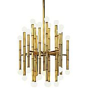 Meurice 30 Light Chandelier (Brass) - OPEN BOX RETURN