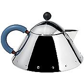 Michael Graves Teapot (Blue/Mirror Polished) - OPEN BOX