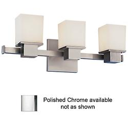 Milford Bath Bar (Chrome/3 Lights) - OPEN BOX RETURN